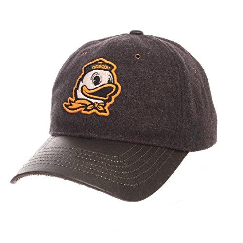 - NCAA Oregon Ducks Adult Men Alum Heritage Collection Hat, Adjustable, Heather Gray