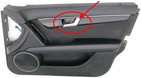 09 thru 14 Ford F150 Gray Inside Interior Door Handle Fits Left CHROME