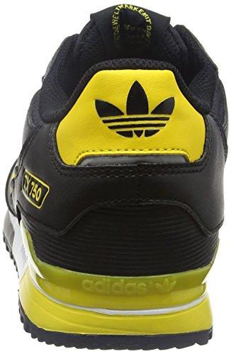 adidas Zx 750, Zapatillas De Deporte Unisex Adulto Negro (Negbas / Eqtama / Grpuch)