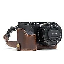 MegaGear MG961 Estuche para cámara fotográfica - Funda (Funda, Sony, Alpha A6300, Alpha A6000, Marrón)