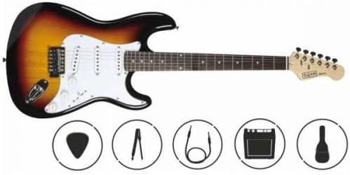 OQAN QGE-15K PACK DE GUITARRA ELECTRICA INFANTIL: Amazon.es: Instrumentos musicales