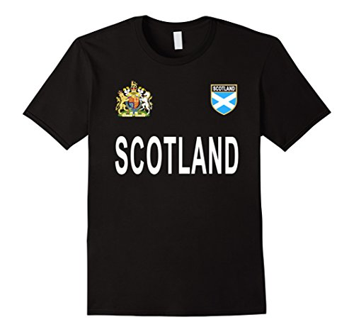 Mens Scotland Pride T-Shirt - Scottish Retro Football Jersey 2017 Medium - Football Retro Shirts Shirt