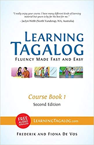 B/&w Part of 7-Book Set Course Book 1 Learning Tagalog Fluency Made Fast and Easy Free Audio Download