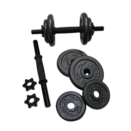 Garage gym cap barbell adjustable dumbbell set pounds