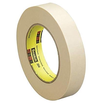 8627c0f07e5e2 Scotch 234 General Purpose Masking Tape, 1 Inch x 60 Yards, Tan