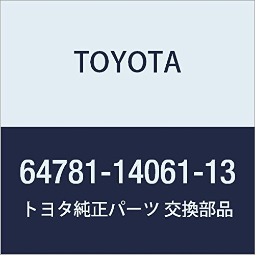 Genuine Toyota 64781-14061-13 Door Trim Board