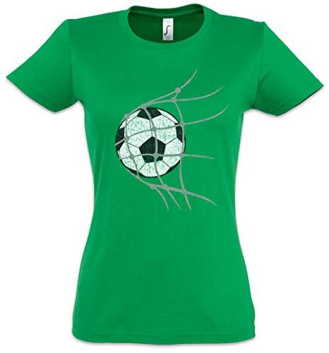 Urban Backwoods Football Goal Women T-Shirt Green Size XS