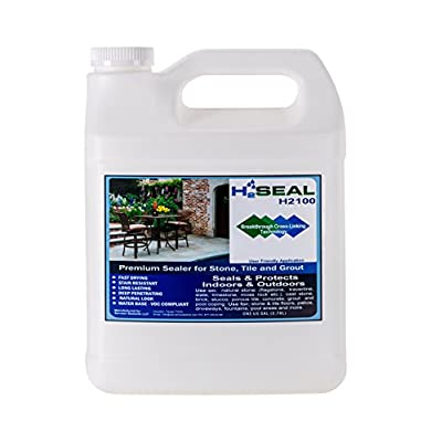 Serveon Sealants H2Seal H2100 Stone Sealer - Professional Grade for Natural Stone, Grout, Brick, Tile and Artificial Stone