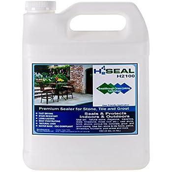 Serveon Sealants H2Seal H2100 Stone Sealer   Professional Grade For Natural  Stone, Grout, Brick