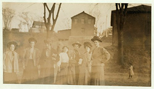 Some of the girls from the Chace Cotton Mill, Burlington, Vt. Girl on left hand end is Cora - Burlington Vt Kids