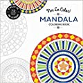 3 Pk. Vive Le Color! Mandala (Adult Coloring Book): Color In; De-stress (72 Tear-out Pages) from Abrams Noterie