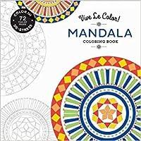 3 Pk. Vive Le Color! Mandala (Adult Coloring Book): Color In; De-stress (72 Tear-out Pages)