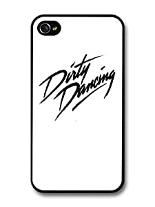 Dirty Dancing Black and White Logo Patrick Swayze case for iPhone 4 4S