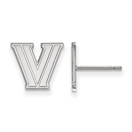 Villanova Extra Small (3/8 Inch) Post Earrings (Sterling Silver)