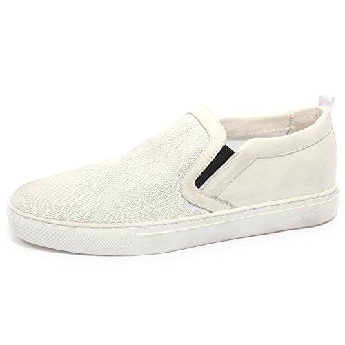 Man Sneaker Uomo Scarpa Crime Slip B2300 On Bianco Bianca London Shoe fzdxnp7