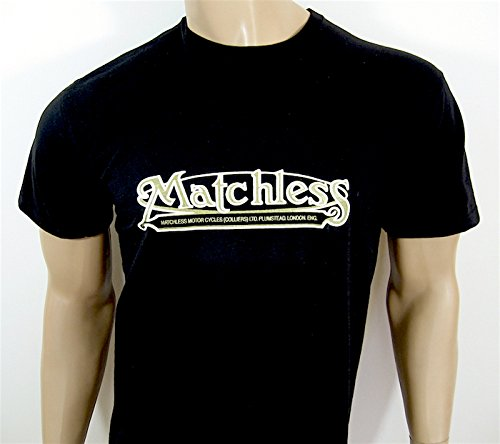 unvergleichlichen Motorräder T-Shirt–Black in Größe XXL (47bis 124,5cm)–--- siehe bitte Unsere anderen Angebote für alle anderen Größen/Farben dieses Shirt