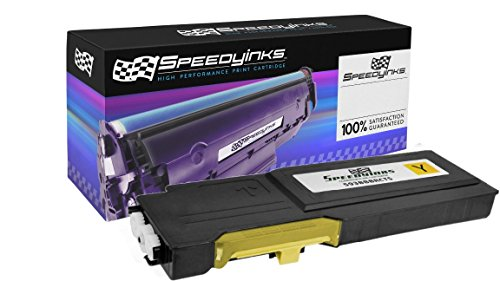 Speedy Inks Compatible Toner Cartridge Replacement for Dell C2660 C2660dn C2665dnf High-Yield (Yellow)