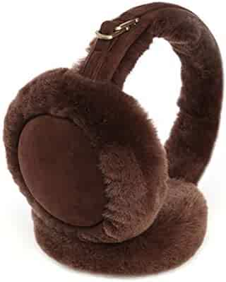 RUYA Unisex Winter Warm Earmuffs Foldable Kinted Thermal Ear Warmer Ear muff
