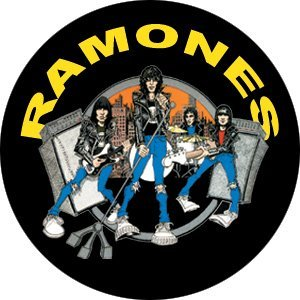 The Ramones Road To Ruin Pin ()