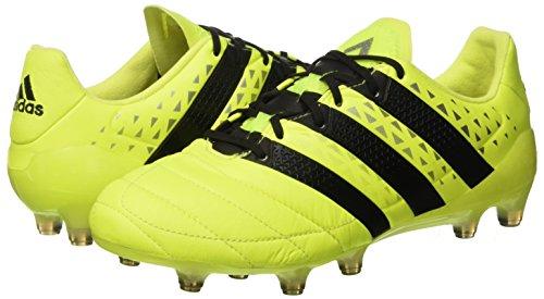 Cblack Silvmt syello Fg De Pour Football Homme Ace Cuir Chaussures 1 Adidas 16 Jaune En gOH7nw6Uq