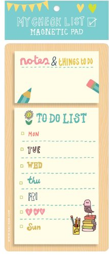 Kate Sutton My Checklist Magnetic Pad