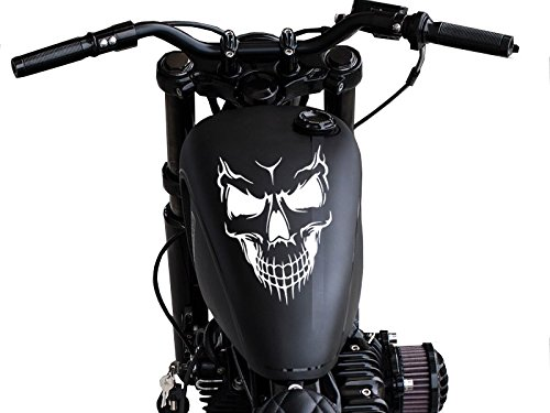 FGD Motorcycle Skull Gas Tank Decal sticker (Ts1) Universal Fits Harley Honda Yamaha and Others 8