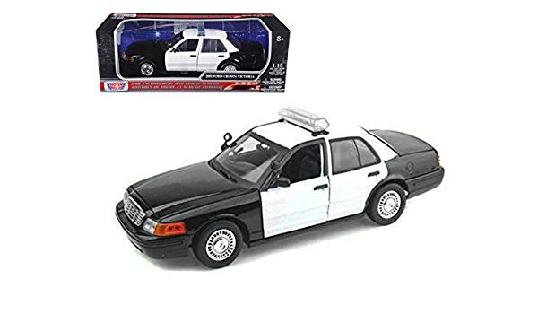 Ford Crown Police Interceptor Policía de Los Ángeles 2008 the Rookie maqueta de coche 1:24 GreenLight