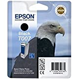 Epson T007 - Print cartridge - 1 x black - 540 pages - blister with RF alarm