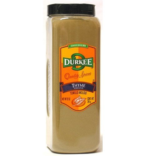 Durkee Ground Thyme - 12 oz. container, 6 per case by Durkee