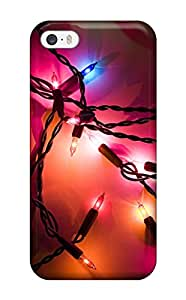 Jim Shaw Graff's Shop Best Excellent Iphone 5/5s Case Tpu Cover Back Skin Protector Holiday Lights