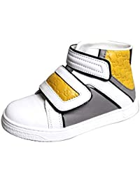 Kid s Unisex Leather High top Coda Pop Sneakers 301353 301354 17d9be594