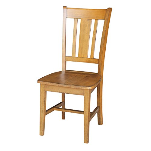 International Concepts C59-10P San Remo Chair, Pecan