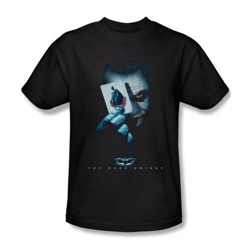Dark Knight Trilogy - Men's T-Shirt Joker with card, XL, - Jeans Joker