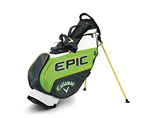 Callaway Golf 2019 Epic Flash Staff Stand Bag, Double Strap