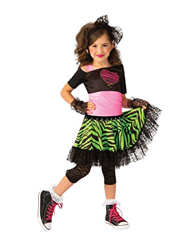 Rubie's Opus Collection Child's 80S Material Girl Costume, Small
