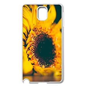 {Sunflower Series} Samsung Galaxy Note 3 Cases Yellow Sunflower, Case Stevebrown5v - White
