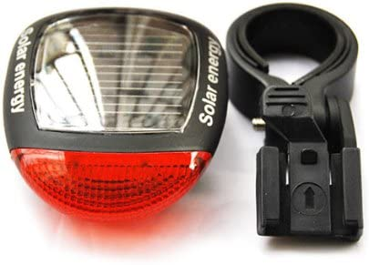 demiawaking energía Solar LED para bicicleta luz de cola trasera ...