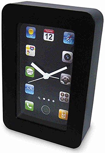 Amazon com: iClock Elegant Desktop Alarm Clock: Home & Kitchen