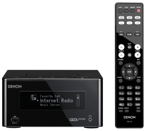Denon Ceol Piccolo Network Receiver Black Dra-N5k 100V 50-60Hz (Japanese Import)