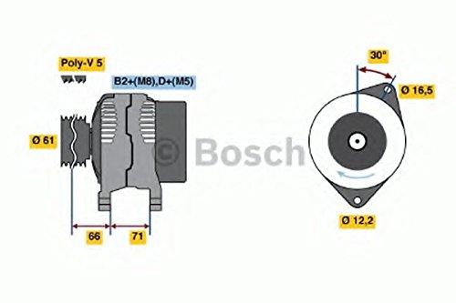 BOSCH 0986042000 Generator