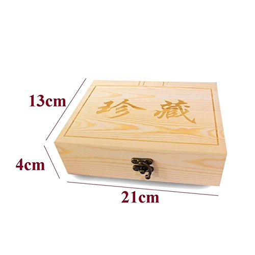 - Morrenz - Wood Style Bundle Coins Display Box Case for Slab Certified Coins Storage Boxes Jewelry Box Home Storage Organization