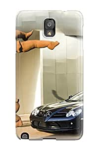 DanRobertse Scratch-free Phone Case For Galaxy Note 3- Retail Packaging - Mercedes Mclaren Roadster Wallpaper