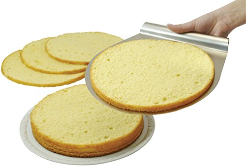 Zenker Stainless Steel Layer Cake Slicing Kit with 12'' Serrated Knife, 3-Piece by Zenker (Image #4)
