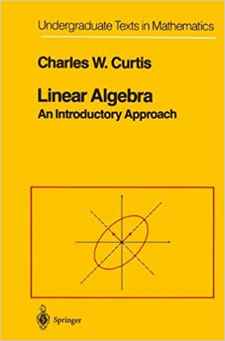 Linear algebra an introductory approach undergraduate texts in linear algebra an introductory approach undergraduate texts in mathematics 4th edition fandeluxe Choice Image