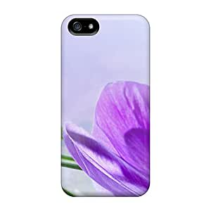 Slim Fit Protector Shock Absorbent Bumper The First Crocus Cases For Iphone 5/5s