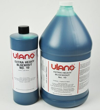 Ulano 10 - Blockout Liquid for Screen Printing (Quart) by Ulano