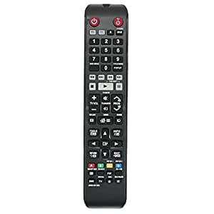 Allimity New AK59-00139A AK5900139A TM1251 Replacement Remote Control fit for Samsung BLU-RAY Player BDE8500A BDE8900A BD-E8500A BD-E8900A BDE8500AXY BDE8900AXY BD-E8900AX BDE8500A/XY
