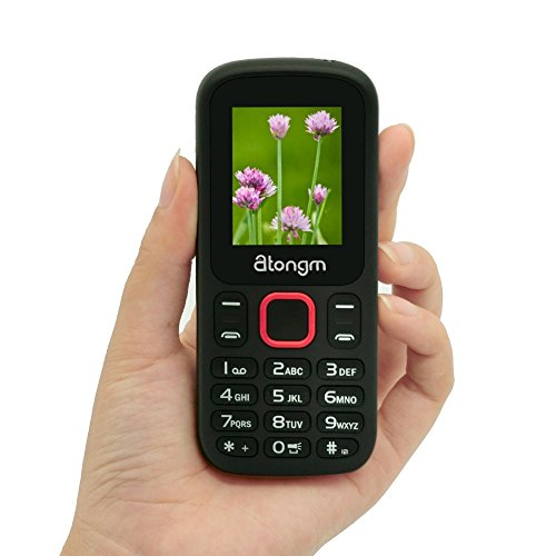 Unlocked Phones With Bluetooth Flashlight SIM Card Camera FM MP3/MP4 Mobile Phones For Elderly ()