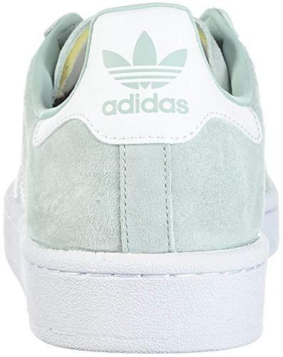 adidas Originals Men's Super Star Campus Fashion Sneaker (Ash Green/White/White