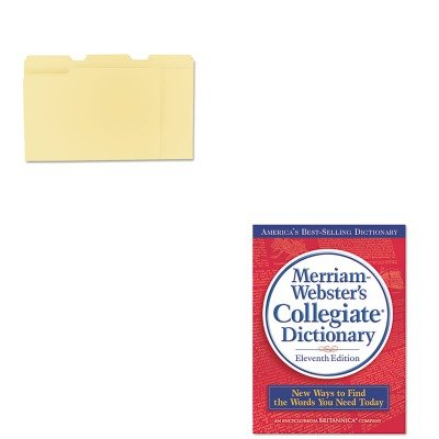 - KITMER9UNV12113 - Value Kit - Merriam Webster Collegiate Dictionary (MER9) and Universal File Folders (UNV12113)